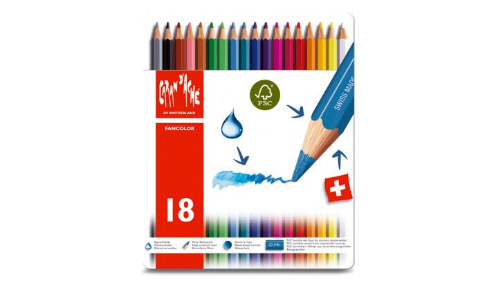 Caran d'Ache Fancolor blik 18st