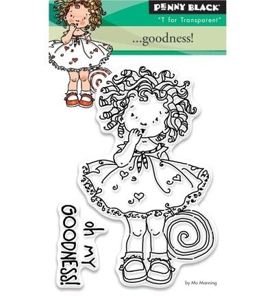 Penny Black Clearstamp ....Goodness 30327