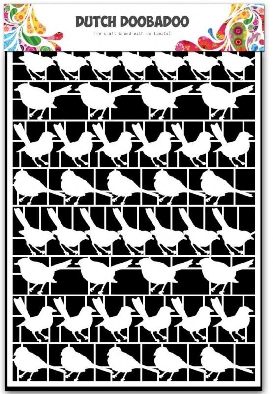 Dutch Doobadoo Paper Art vogels - A5 472.948.024