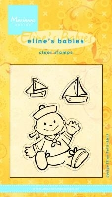 Clear stamps Eline`s babies EC0084
