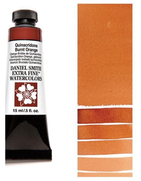 Daniel Smith Watercolour Quinacridone Burnt Orange 5ml