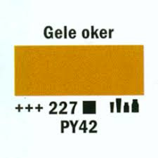 Amsterdam Marker 2-4mm 227 Gele Oker