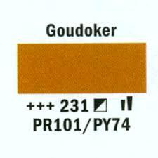 Amsterdam Acrylverf 120ml 231 Goud oker
