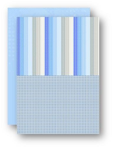 Background dec. sheet A4 doubleside printed Sea pattern NEVA052