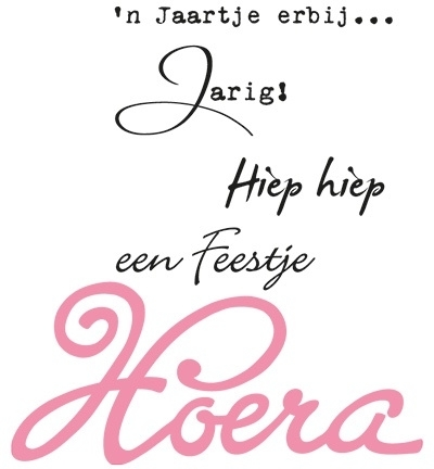 Collectables - Hoera - NL col1348