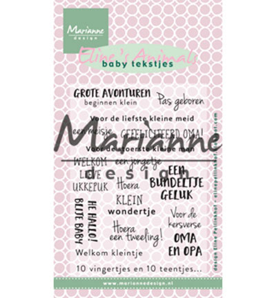 Eline's baby tekstjes EC0171