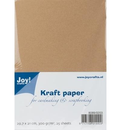 Joy Kraftpapier A4 300gr 25 vellen