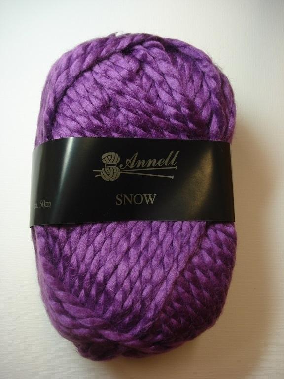 Annell Snow Kleur 3952 Lila