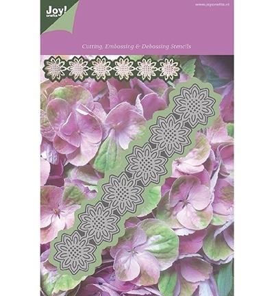 Joy! Cutting, Embossing & Debossing - Stencil bloem 10 blad 1201/0084