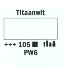 Amsterdam Marker 2-4mm 105 Titaanwit