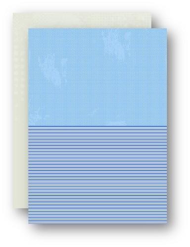 Background dec. sheet A4 doubleside printed Sea dots NEVA053