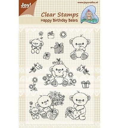 Joy! clearstamps Happy Birthday Bears 6410/0333