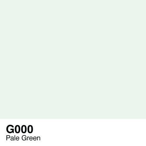 Copic alcohol ink Pale green G000