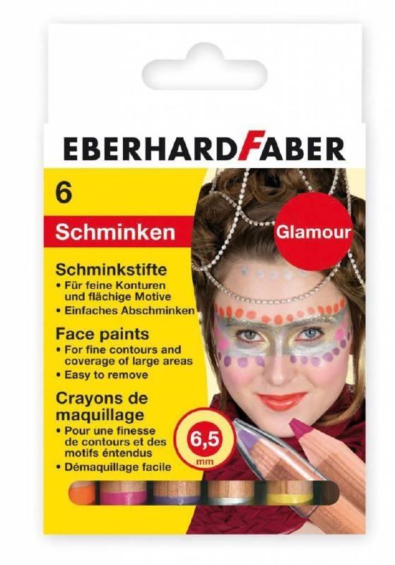 Eberhard Faber Schminkpotloden Glamour 6 Stuks (EF-579102)