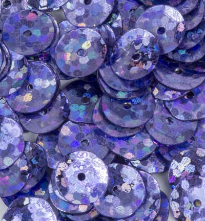 Pailletten facon 6mm  Disco Purple