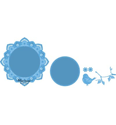 MD Creatable Petra's circle with bird LR0457