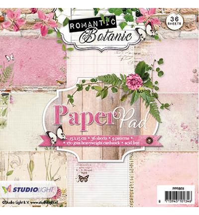 Studio Light Paperpad  Romantic Botanic nr.58