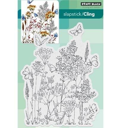 Penny Black Clingstamp Butterfly dance 40444
