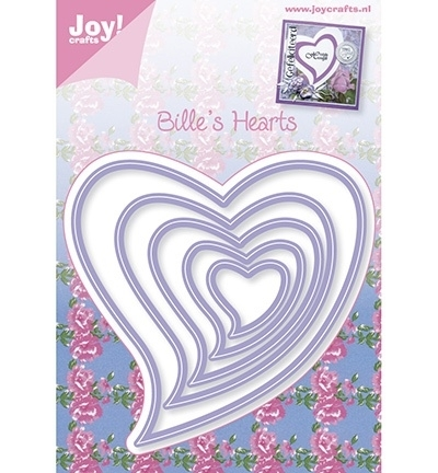 Joy  Cutting - Stencil hart 6002/0343