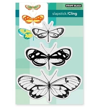 PB Stamp Butterfly Trio 40.473