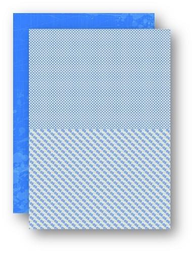 Background dec. sheet A4 doubleside printed Sea roses NEVA054
