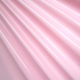 Licht rose stretch lak met rek naar 4 kanten