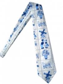Delfts blauw Stropdas