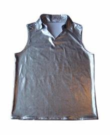 Zilveren heren shirt