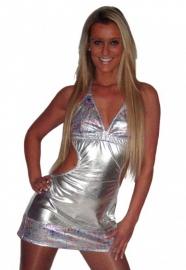 Zilveren jurkje
