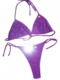 Purple bikini