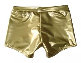 Gouden lak short langer pijpje
