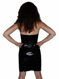 Zwart babydol jurkje