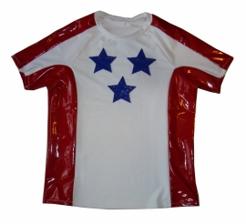 USA herenshirt met lak