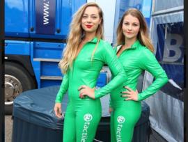 Groene lak catsuits