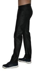Zwart mat stretch-lak met rek naar 4 kanten