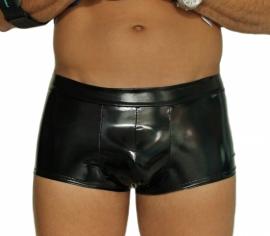Zwarte lak short voor heren