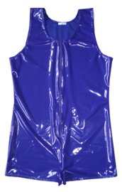Heren lak bodysuit