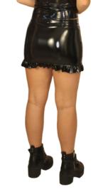 Lak mini rok met roesel
