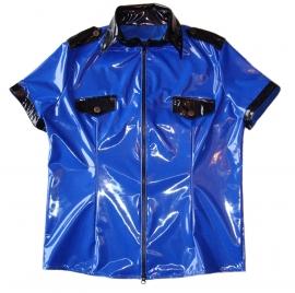 PVC shirt politie-look