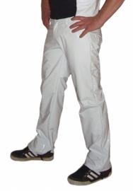 Witte heren lak broek