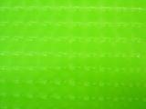 Groen stretch lak hologram met rek naar 4 kanten