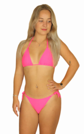 Neon triangel bikini