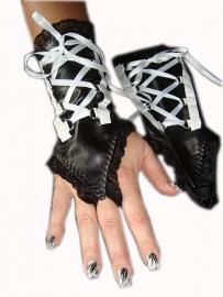 Handschoenen van leer