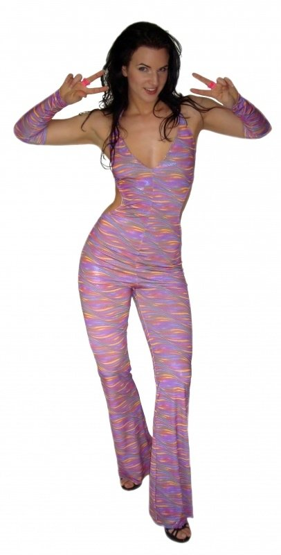 Disco catsuit