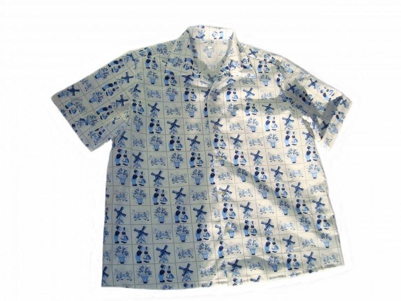 Delfts blauwe blouse