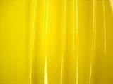 Geel stretch lak met rek naar 4 kanten