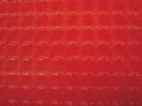 Rood stretchlak hologram met rek naar 4 kanten