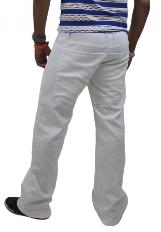 Witte herenbroek