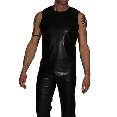 Verwonderlijk Leren kleding voor heren, leren shirt, leren broek, leren short DJ-65
