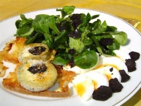 Salade met Zwarte Truffel